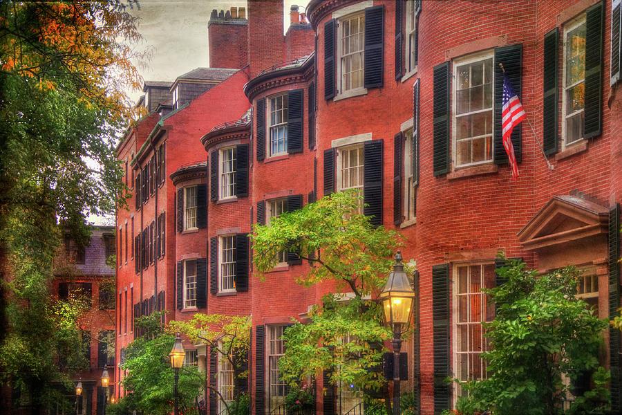 Louisburg Square Photograph - Louisburg Square - Beacon Hill Boston by Joann Vitali