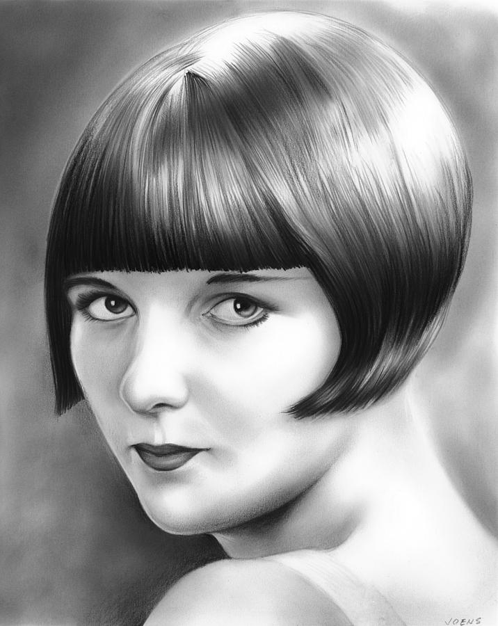 Louise Brooks Drawing