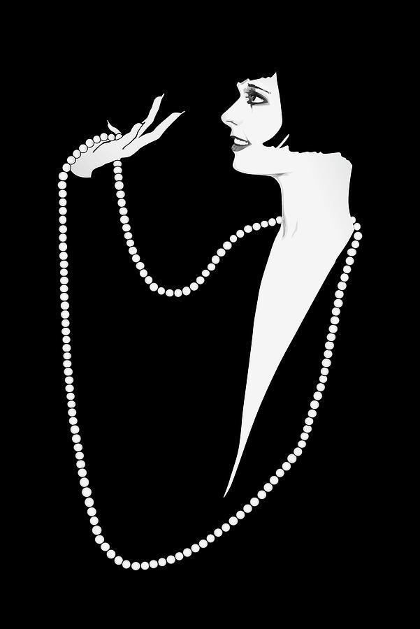 Louise Brooks Digital Art - Louise Brooks by Vintage Brooks