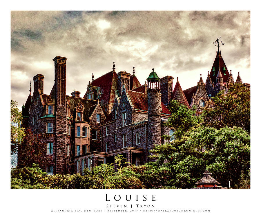 1000 Islands Photograph - Louise by Steven Tryon