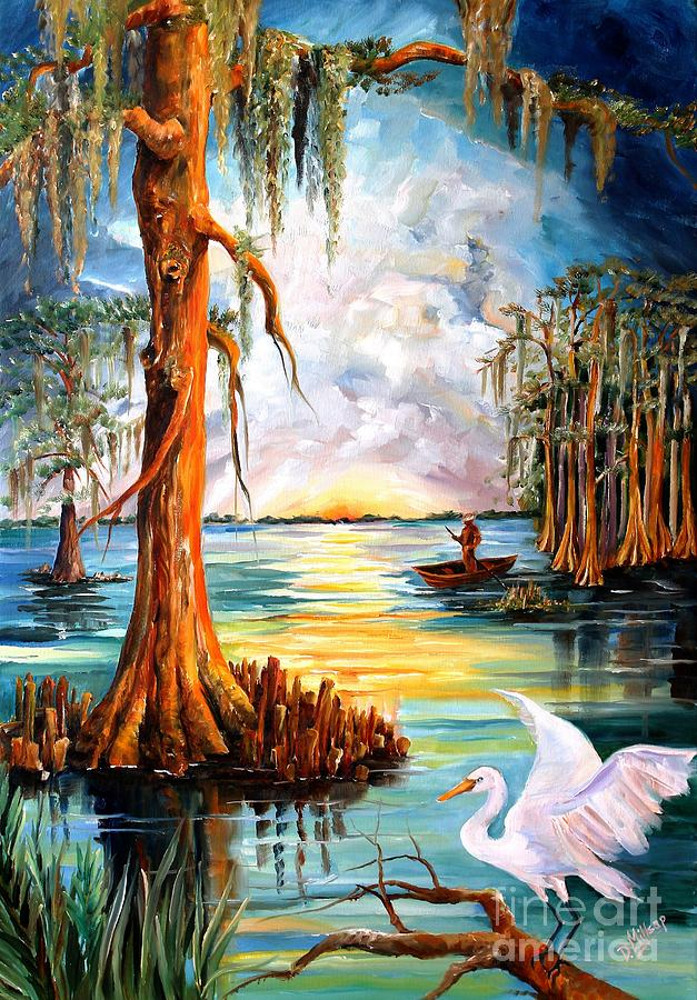 louisiana bayou painting by diane millsap