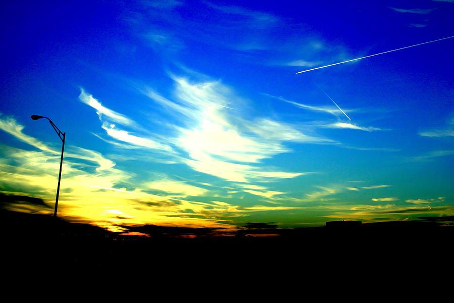 Louisiana Photograph - Louisiana Sunset by Chris Hung