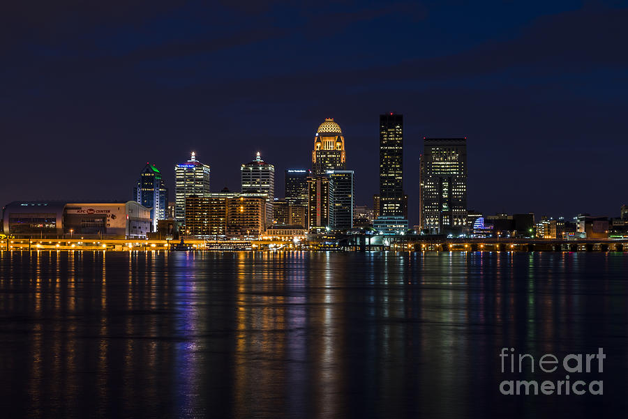 Louisville Skyline by Andrea Silies