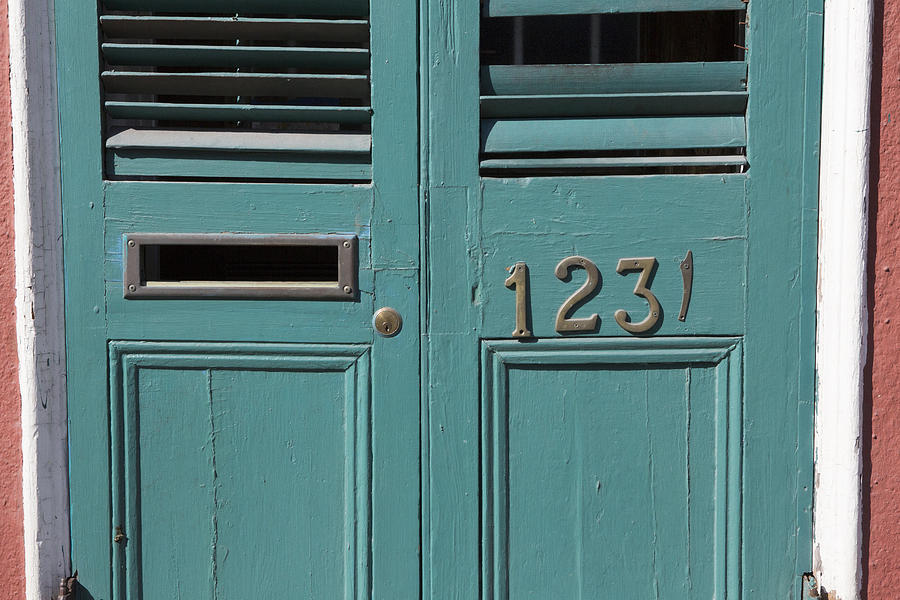 Louvered Door at 1231 Royal Street by Gregory Scott