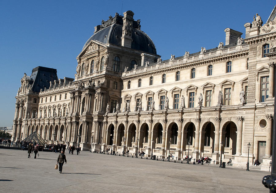 Louvre Photograph - Louvre 2682 by Charles  Ridgway