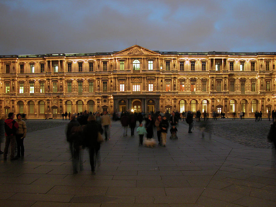 Paris Photograph - Louvre Palace, Cour Carree by Mark Czerniec