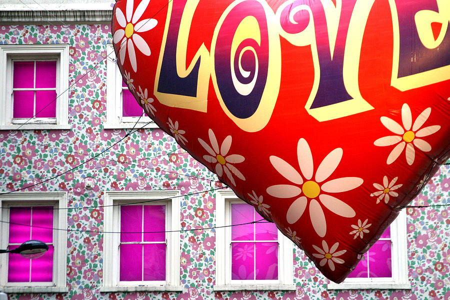 London Photograph - Love Above All by Jez C Self