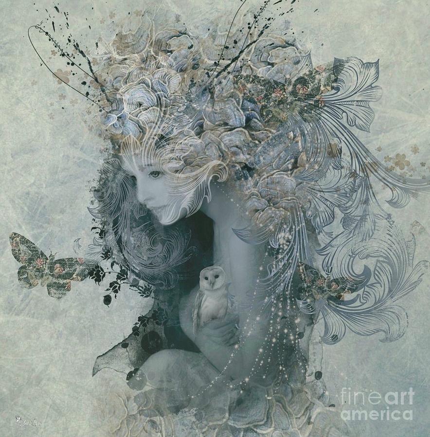 Digital Digital Art - Love  by Ali Oppy