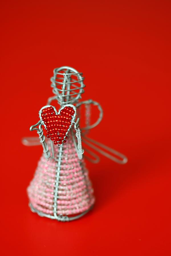 Toy Photograph - Love Angel by Evelina Kremsdorf