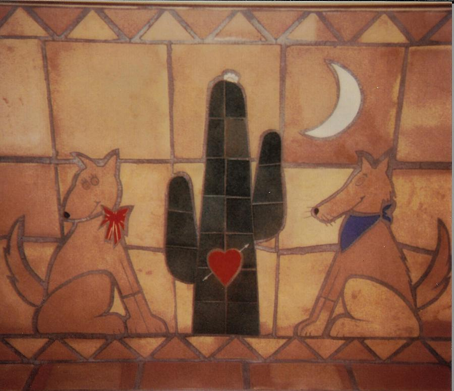 Tile Relief - Love At Frist Sight by Patrick Trotter