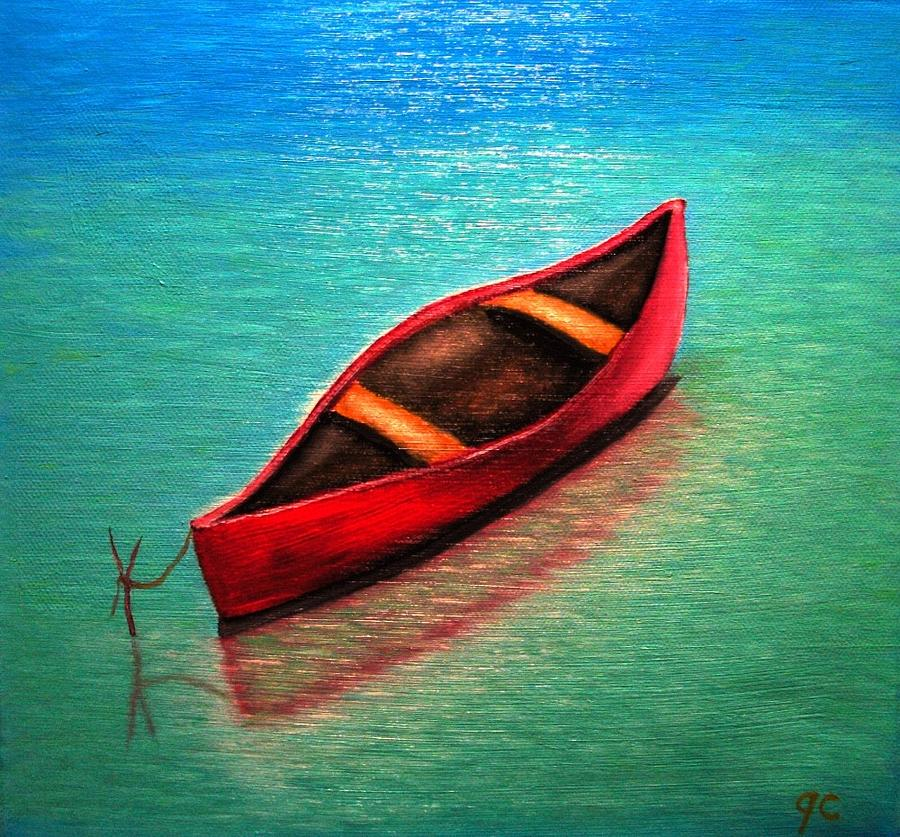 Love Boat Painting by Jimmy Carender