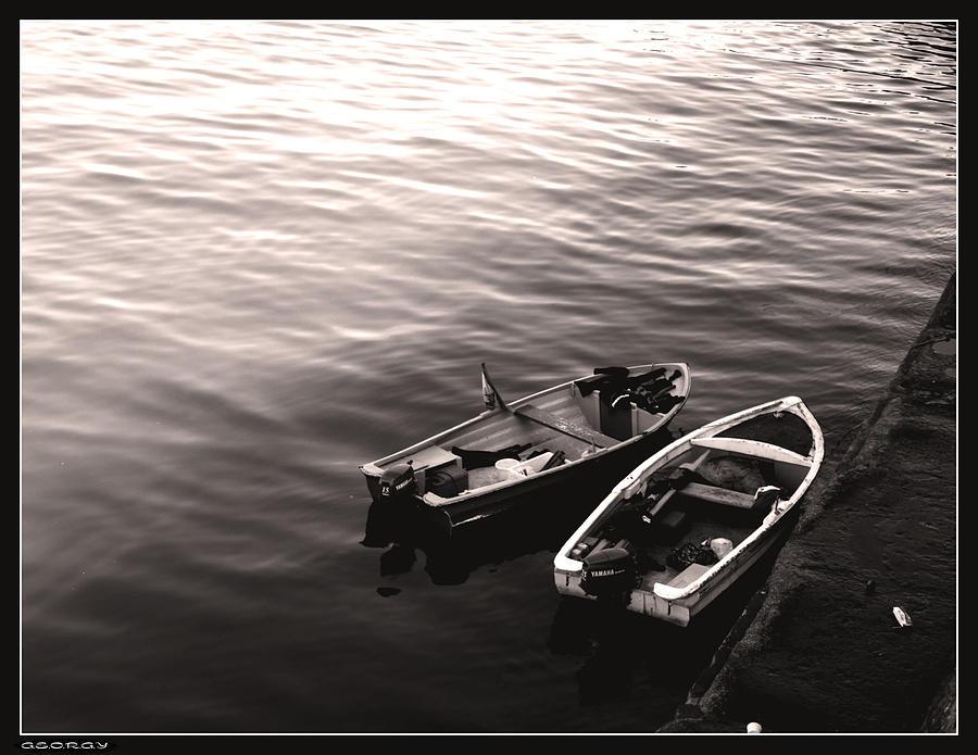 Waterscape Photograph - Love Boats by Georgi Bitar