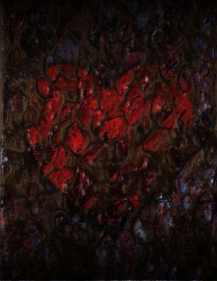 Love Digital Art - Love Buried Deep by Michael Hurwitz