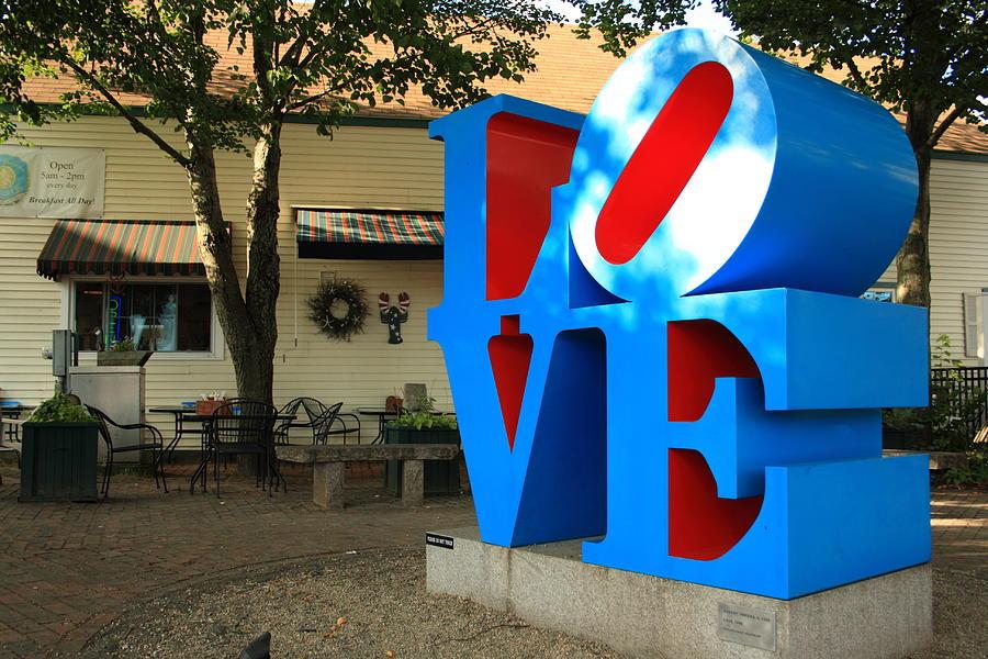 Sidewalk Cafe Photograph - Love Cafe by Doug Mills