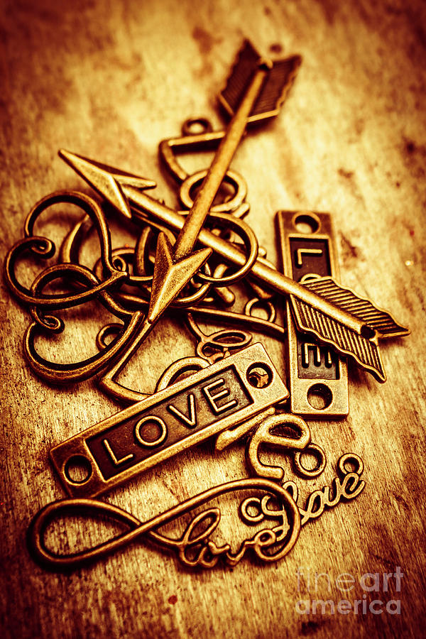 Love Photograph - Love Charms In Romantic Signs And Symbols by Jorgo Photography - Wall Art Gallery