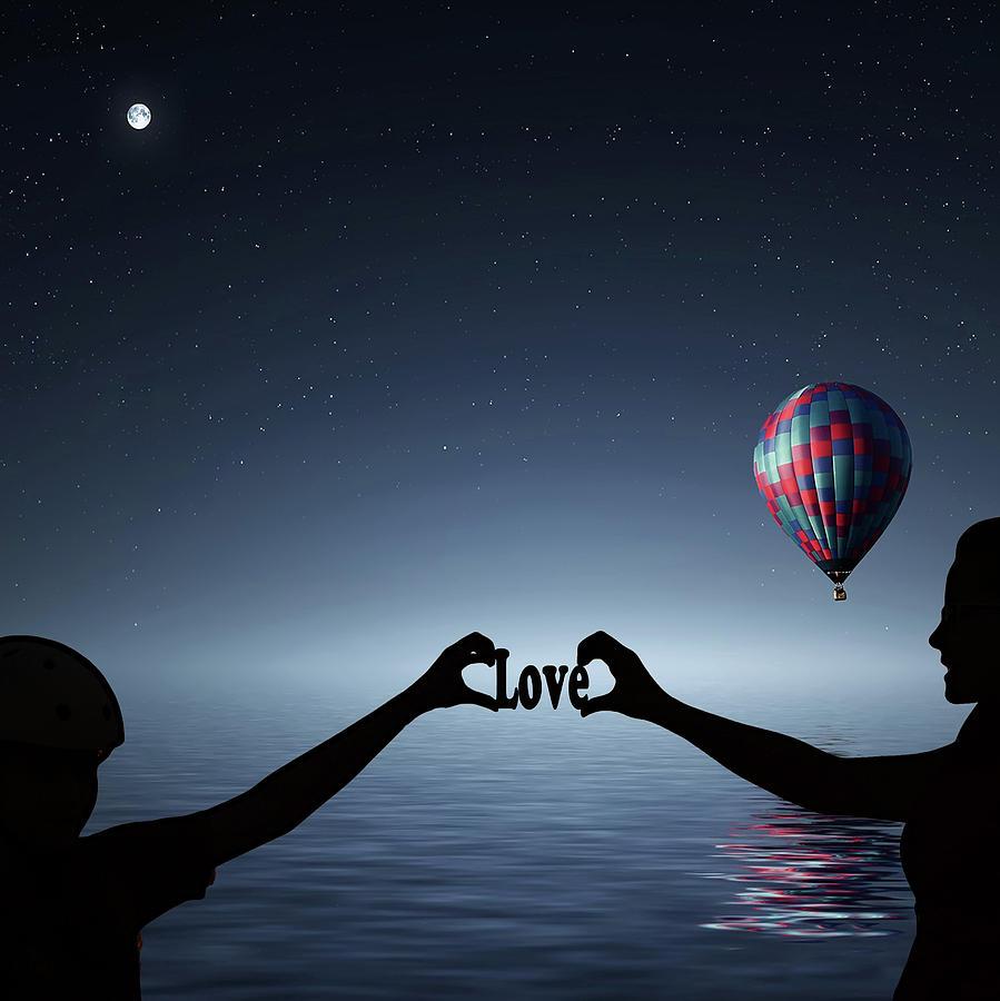Love Photograph - Love - Digital Art by Ericamaxine Price