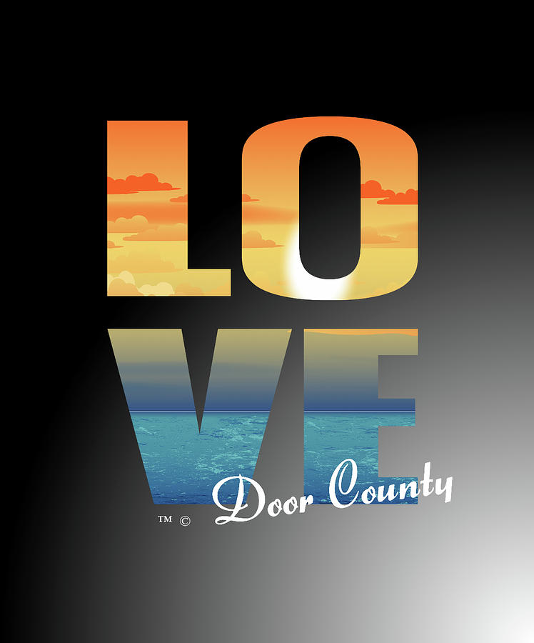 LOVE Door County by Tracy Andropolis