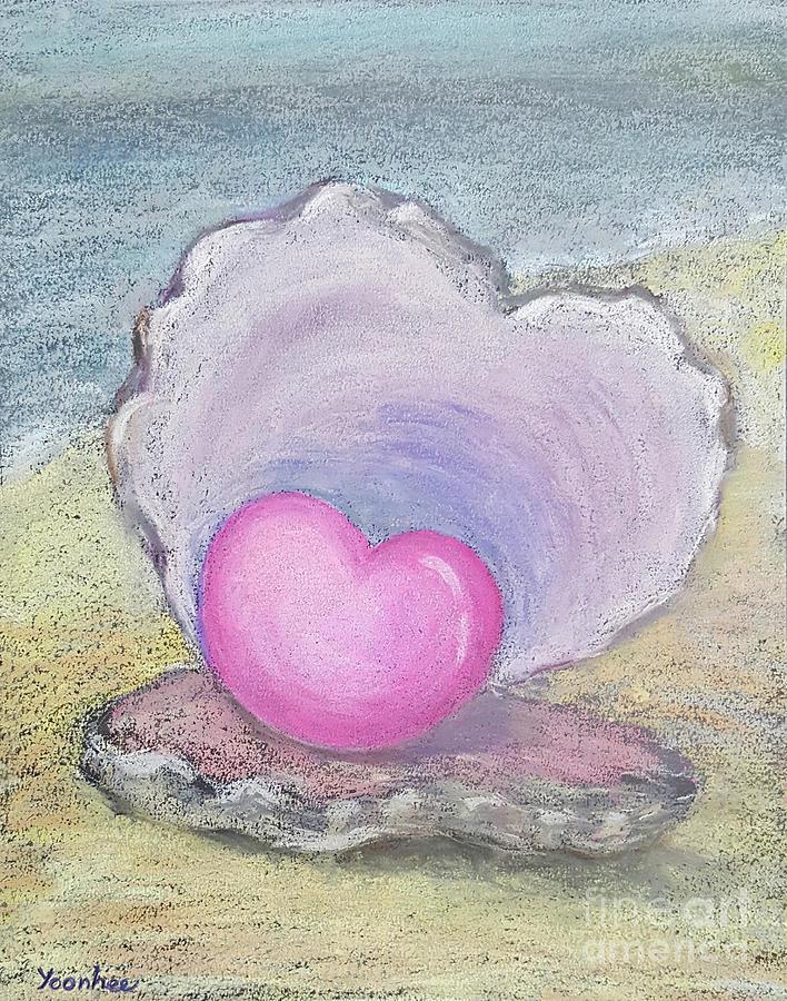 Heart Pastel - Love Endures All Things by Yoonhee Ko