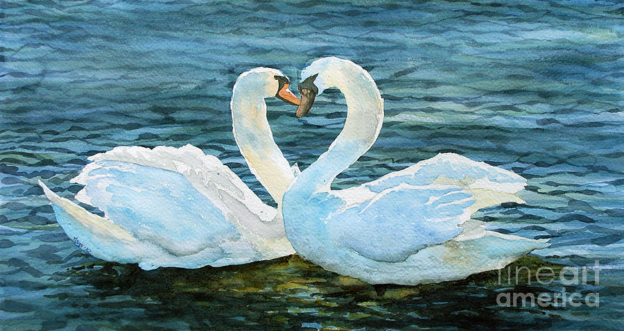 Animals Painting - Love Forever by Marisa Gabetta