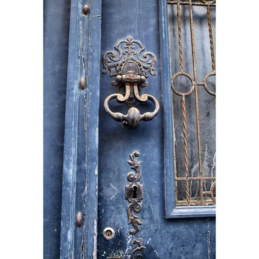 Europe Photograph - #love #france #doors #blue #europe by Georgia Fowler
