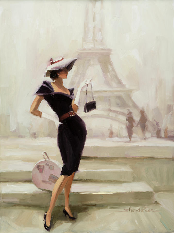 Love, From Paris Painting