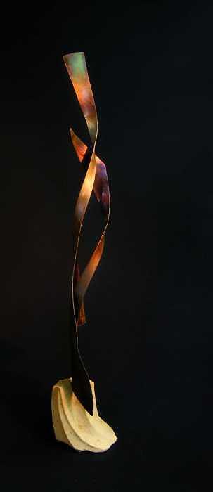 Love Helix Sculpture by Todd Malenke