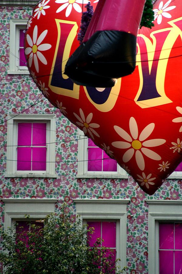 London Photograph - Love House by Jez C Self