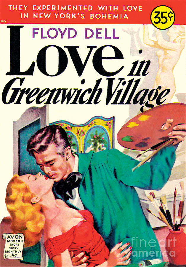 LOVE IN GREENWICH VILLAGE by unknown artist