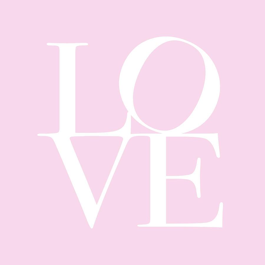 Love Digital Art - Love in Pink by Michael Tompsett