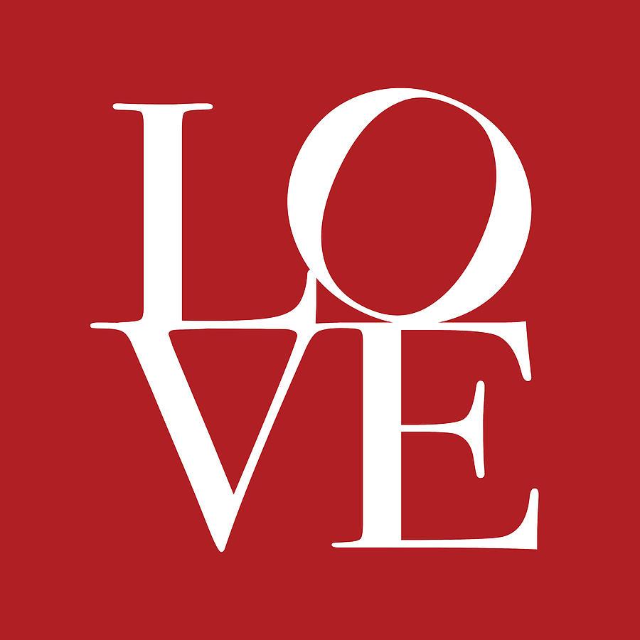 Love Digital Art - Love In Red Square by Michael Tompsett