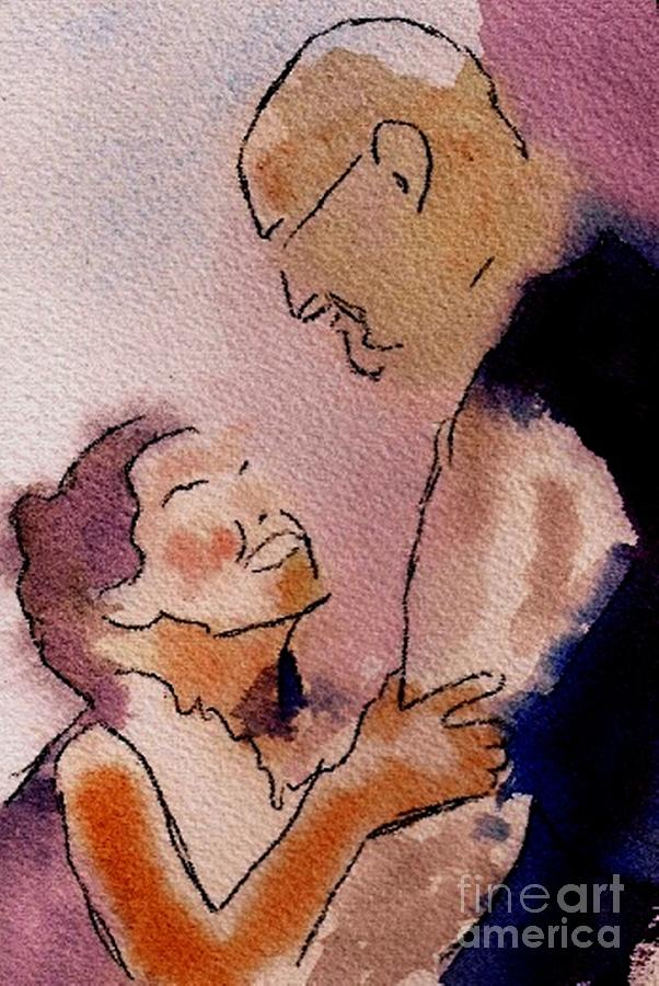 Love Painting - Love by Joe Hagarty