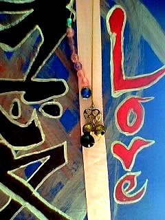 Japanese Calligraphy Mixed Media - Love by Johnna Crider