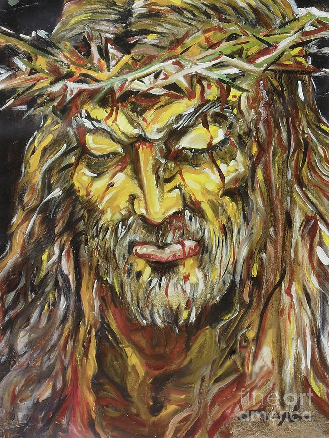 Jesus Painting - Love by Joseph Palotas