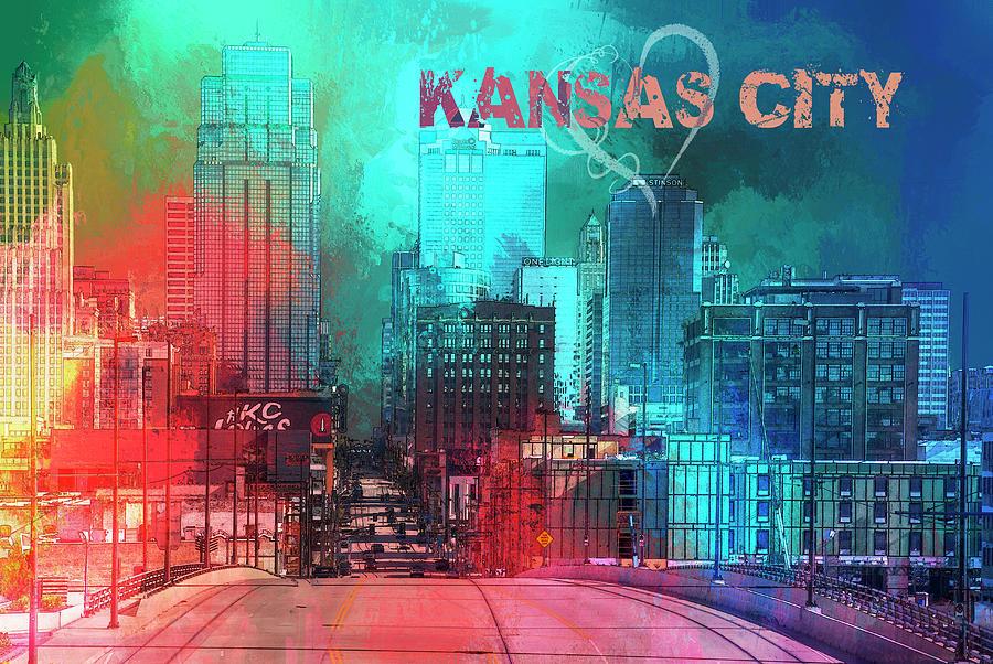 Love Kansas City Digital Art
