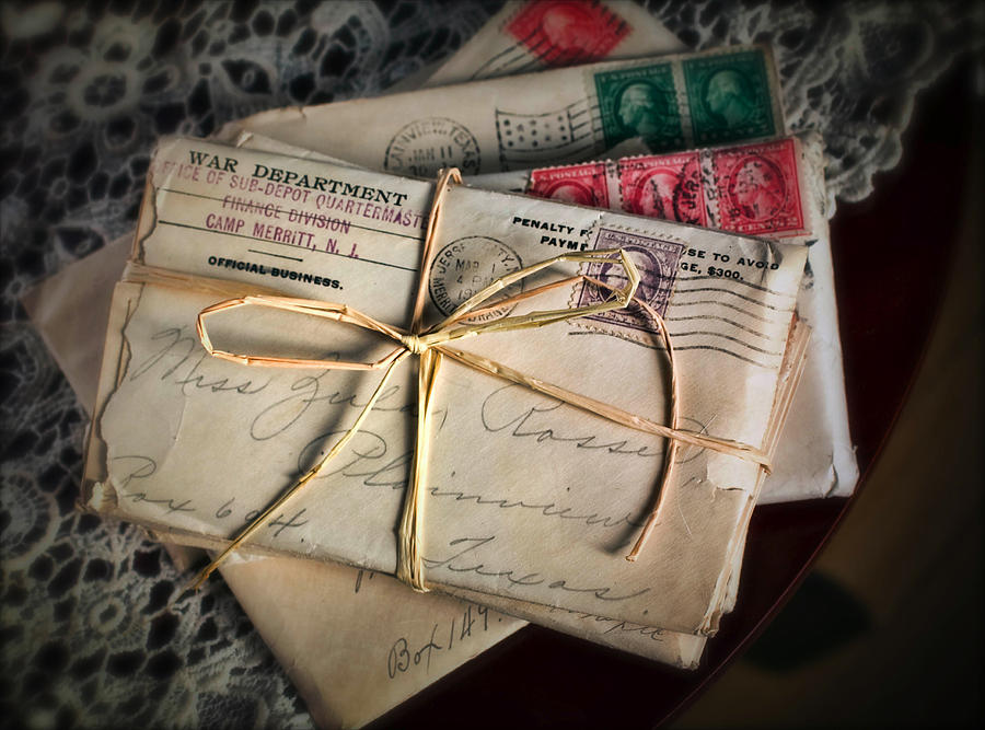 Love Photograph - Love Letters by June Marie Sobrito