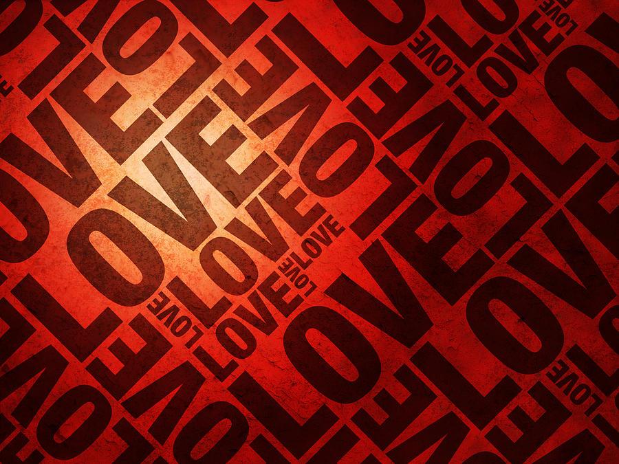 Love Digital Art - Love Letters by Michael Tompsett
