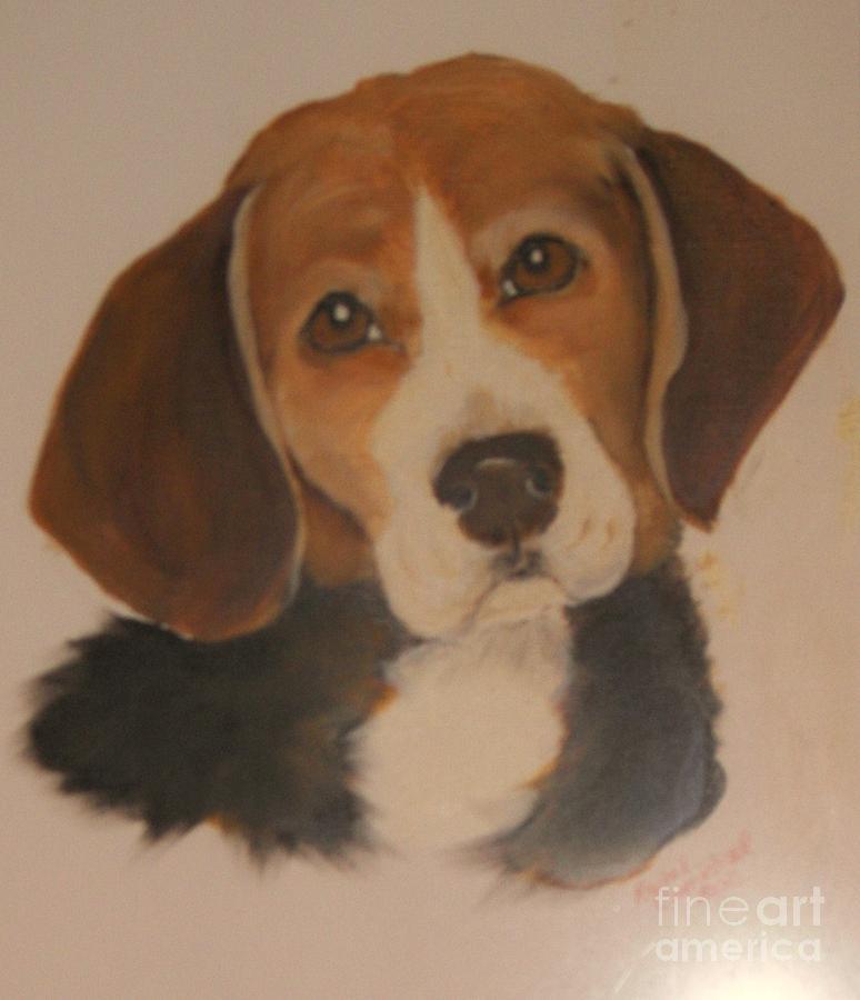 Oils Painting - Love Me As I Love You by Rachel Carmichael