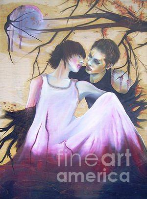 Love Painting - Love Me by Bissan Rafe