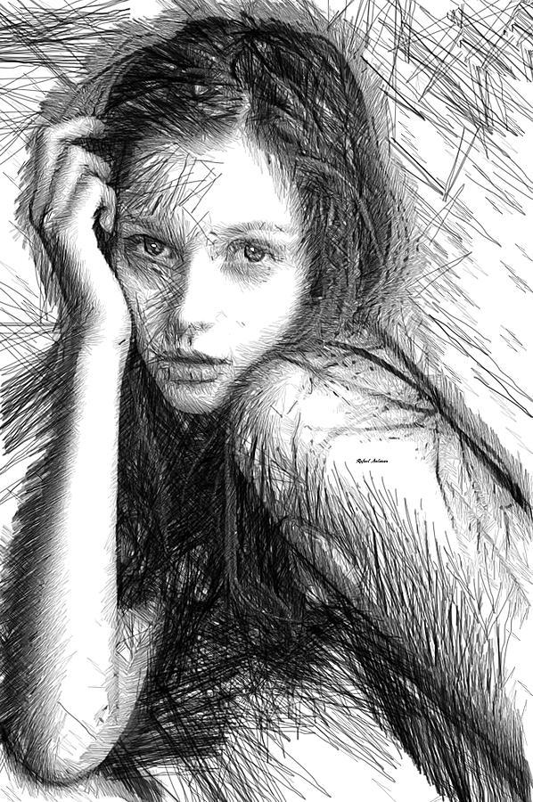 Colombia Digital Art - Love Me Tender by Rafael Salazar