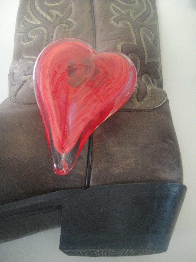 Cowboy Boots Photograph - Love My Boots by WaLdEmAr BoRrErO