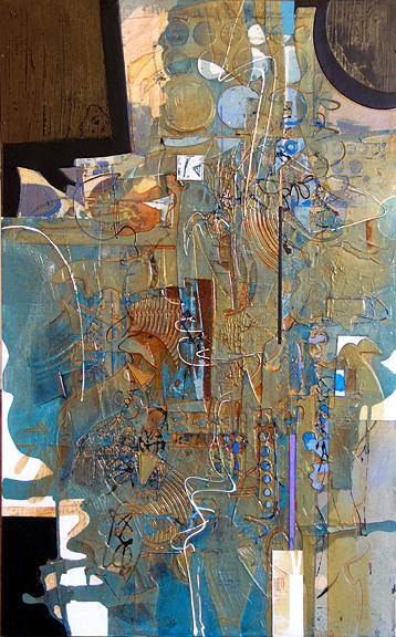 Love Of Abstraction Painting by Robin Branham