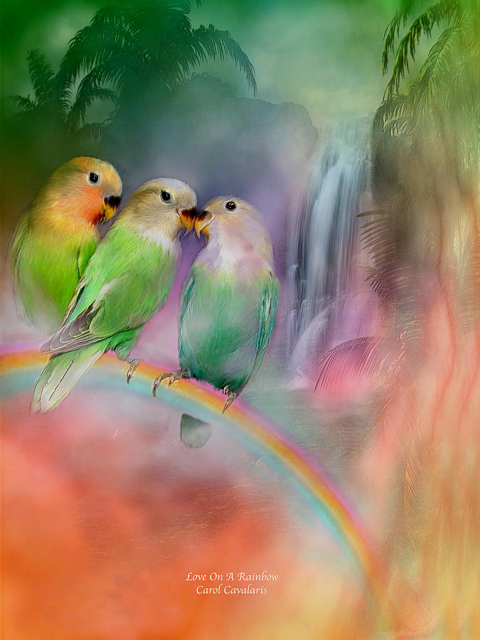 Love On A Rainbow by Carol Cavalaris