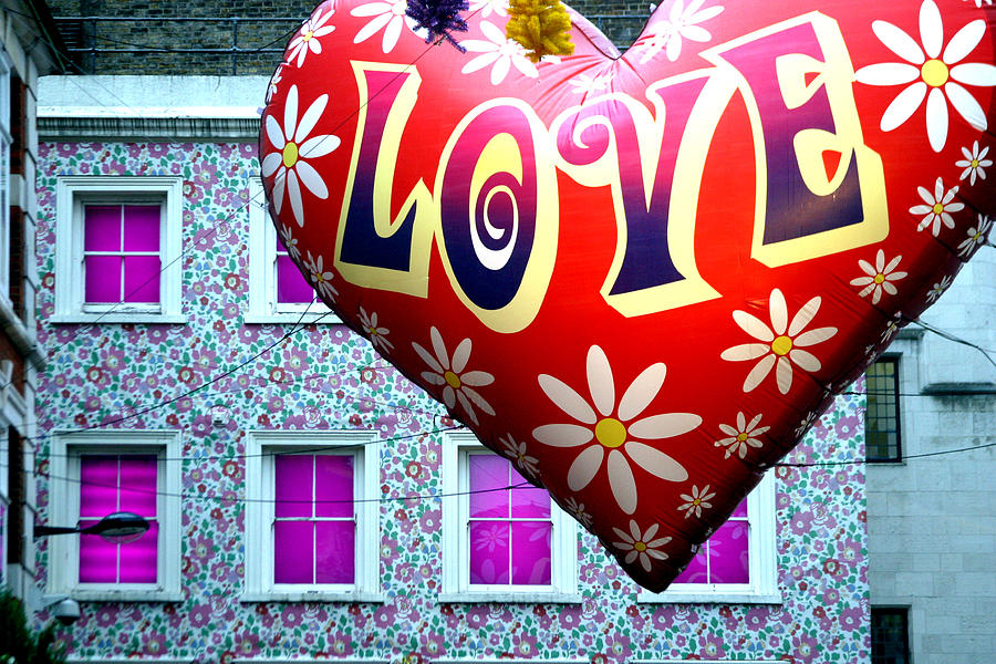 London Photograph - Love On The Roof Tops by Jez C Self