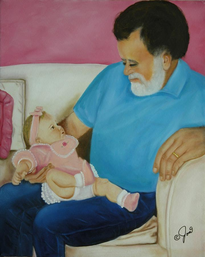 Girl Painting - Love  Passed On Through The Years by Joni McPherson