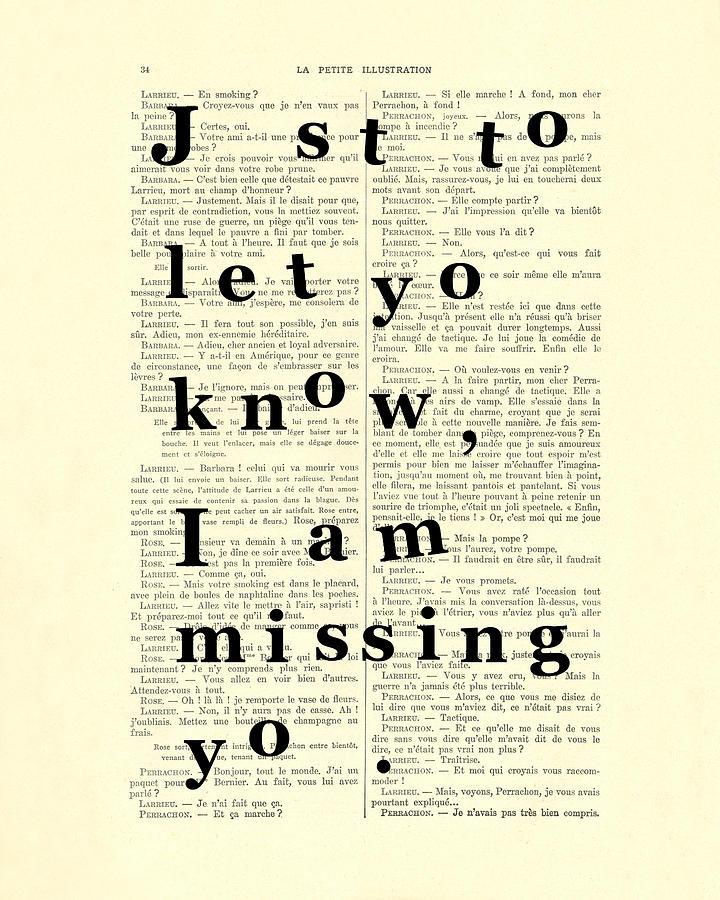 Poem Digital Art - Love Poem, Valentine Gift  by Madame Memento