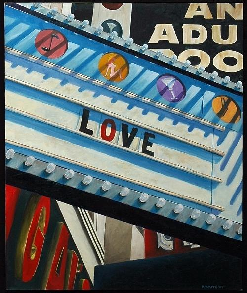 Sign Painting - Love by Robert Smith
