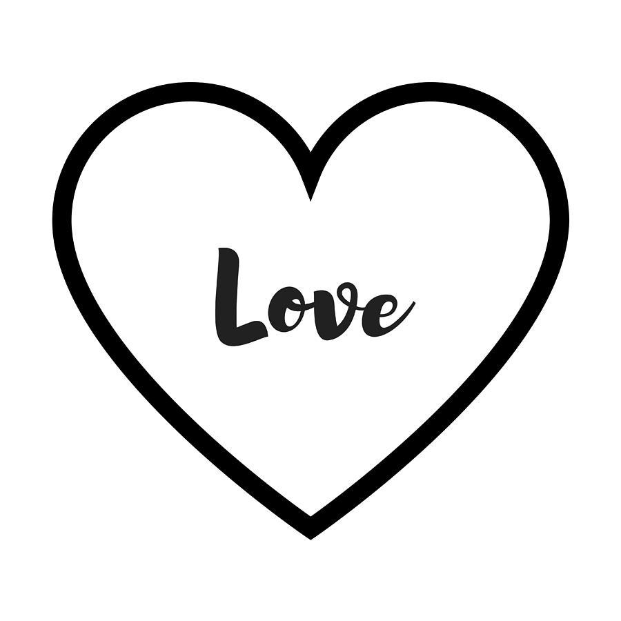Love Digital Art - Love by Rosemary Nagorner