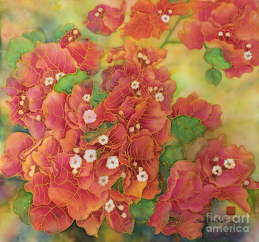 Bougainvillea Painting - Love by Shay Niimi Wahl