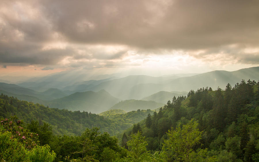 Great Smoky Mountains National Park Photograph - Love Shines Down by Doug McPherson