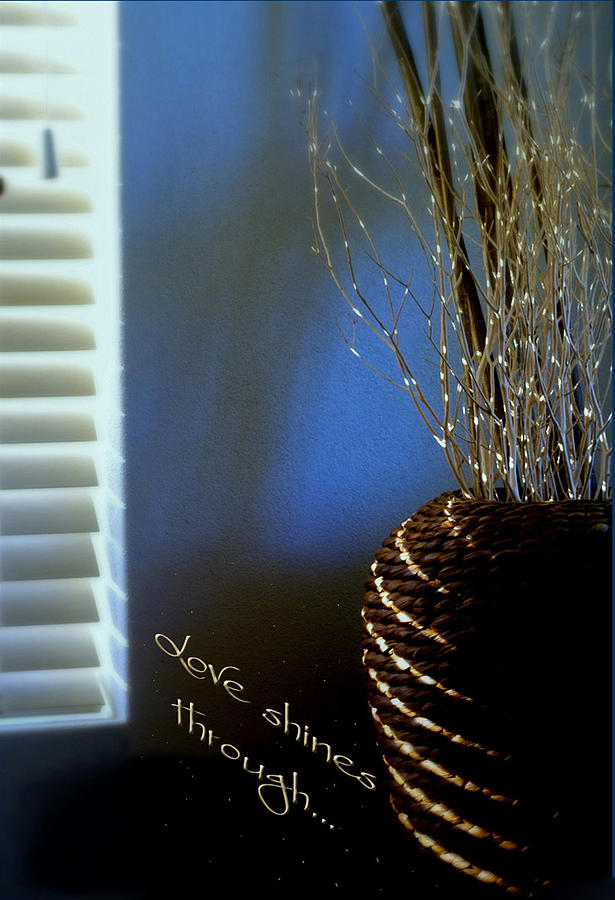 Still Life Photograph - Love Shines Through by Holly Kempe